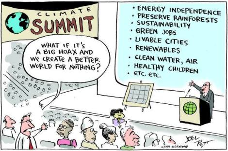 Joel Pett Climate Summit